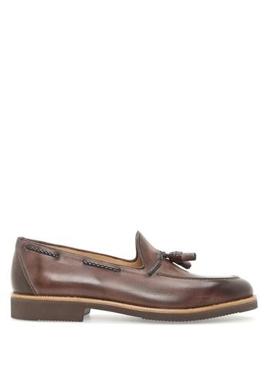 Beymen Collection %100 Deri Loafer Ayakkabı Kahve